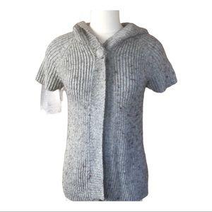 Mimi Maternity alpaca sweater jacket cardigan